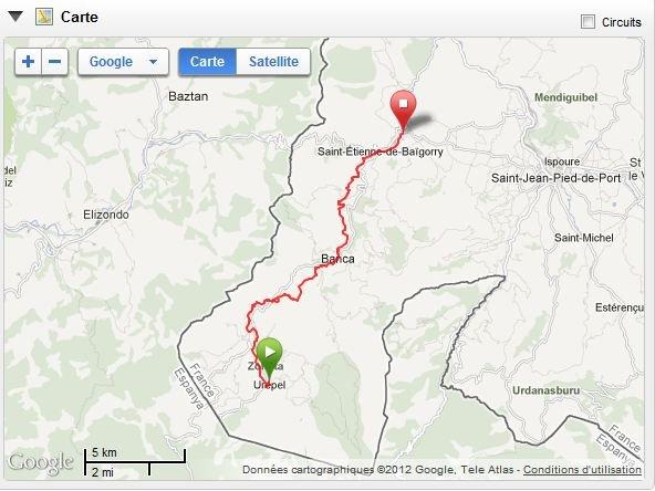 Retour sur l'Euskal Trail  2 X 25 km en 2 jours avec mon pote Christophe dans courses euskal-trail-etape-1