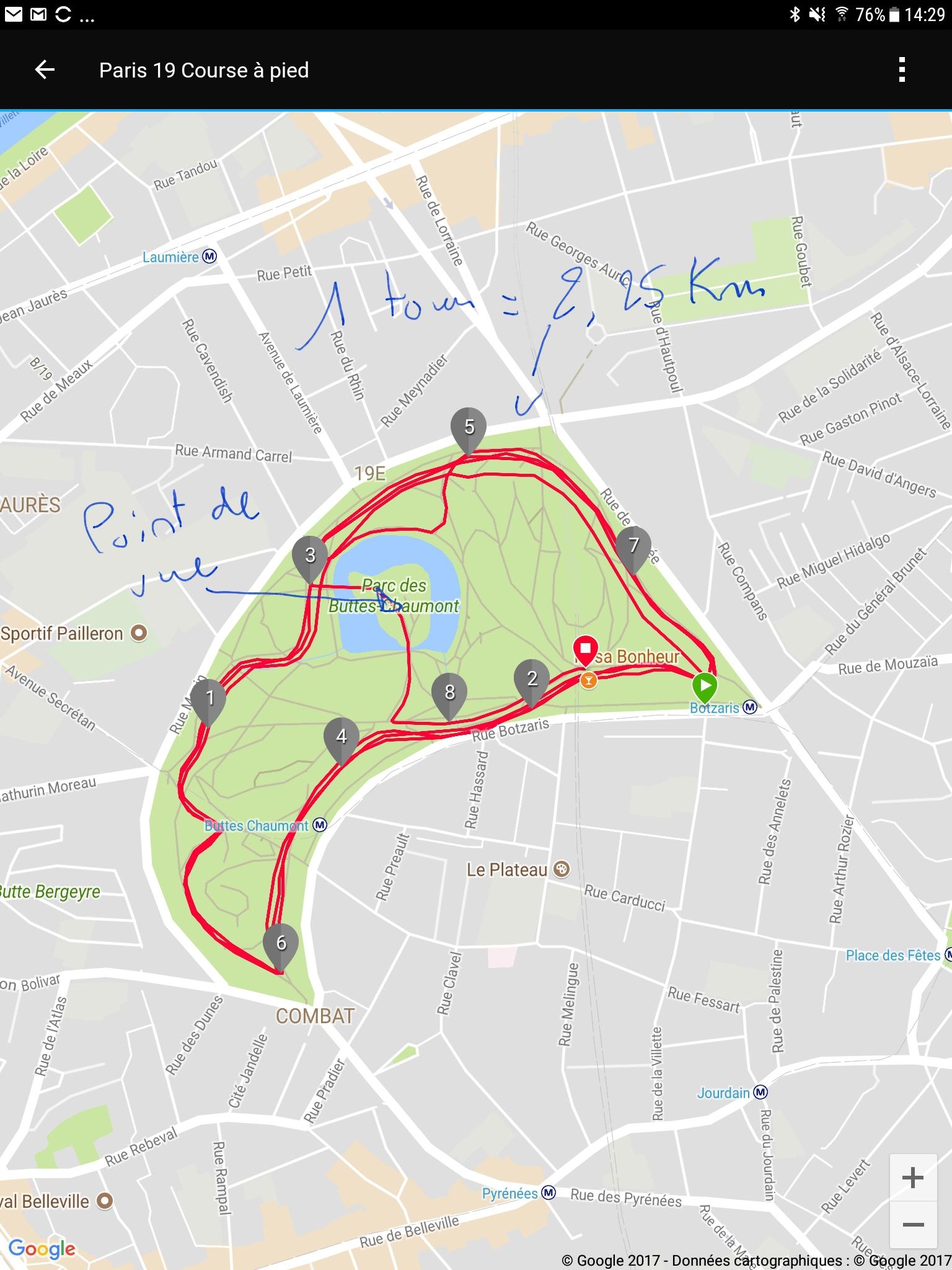Carte Buttes Chaumont.Voyage A Paris Et Sortie Au Parc Des Buttes Chaumont At Peon Runner
